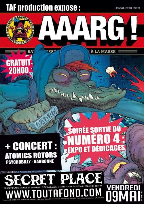 Lancement du 4ème numéro de AAARG à Montpellier