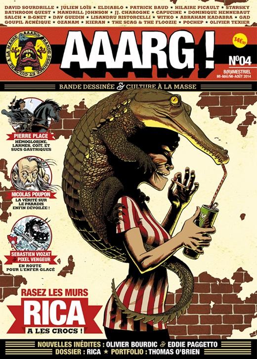Couv du numéro 4 de la revue Aaarg par Rica