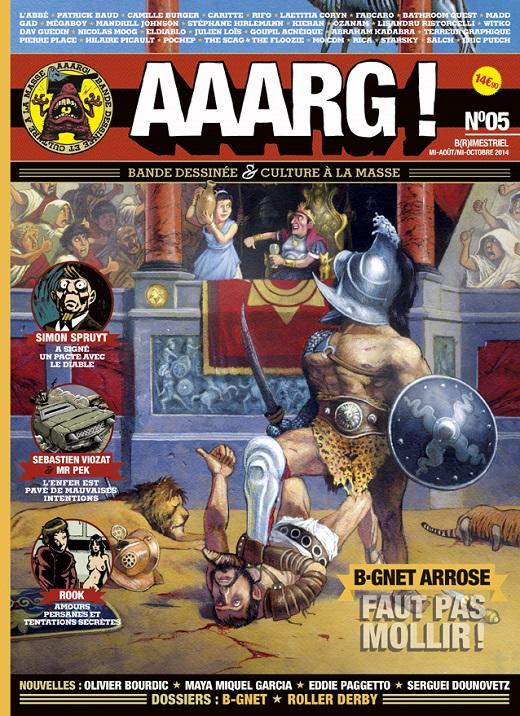 Lancement d'Aaarg ! #5 a Rennes