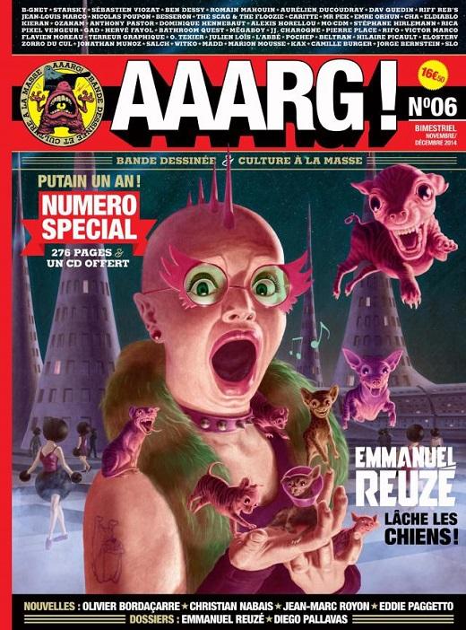Lancement d'Aaarg ! #6 à Paris